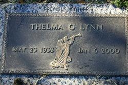 Thelma Oleta <i>Elkins</i> Lynn