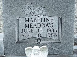 Mabeline <i>Meadows</i> Carter