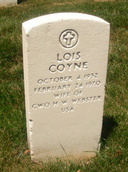 Lois <i>Coyne</i> Webster