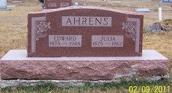Julia E <i>Robertson</i> Ahrens