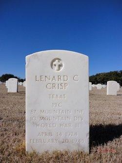 Lenard C Crisp