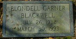 Blondell <i>Garner</i> Blackwell