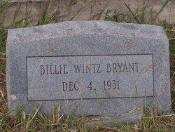 Billie Wintz Bryant
