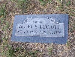 Violet Elizabeth <i>Mauldin</i> Luciotti
