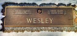 Dorothy Inman <i>Meadors</i> Wesley