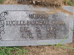 Lucille Melvinia <i>Paschall</i> Curry