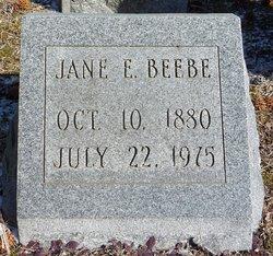 Jane E. <i>Curley</i> Beebe