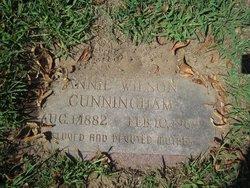 Annie <i>Wilson</i> Cunningham