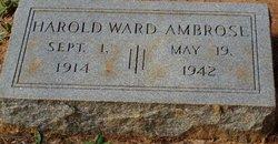 Harold Ward Ambrose