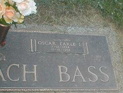 Oscar Earle Earle Bass, I