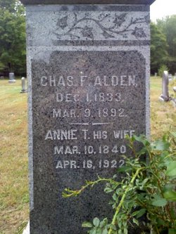 Annie T <i>Clifford</i> Alden