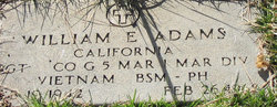 William Ernest Adams