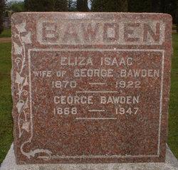 Eliza <i>Isaac</i> Bawden