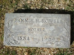 Fannie Hall <i>Rogers</i> Howell