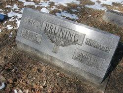 Mary Gertrude <i>Quinn</i> Bruning