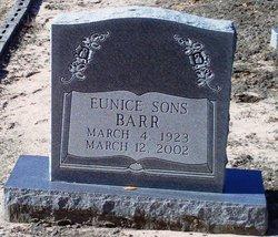 Eunice <i>Sons</i> Barr