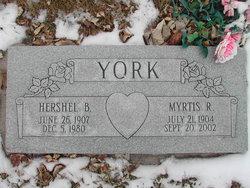 Myrtis Roenna <i>Ellison</i> York