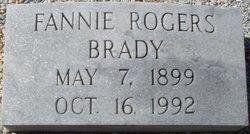Fannie <i>Rogers</i> Brady