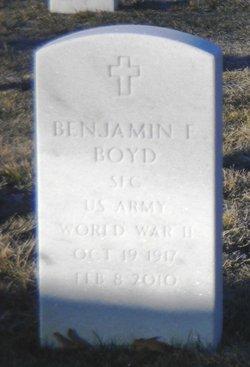 Benjamin E Boyd