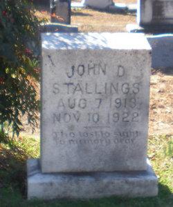 John D Stallings