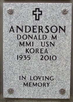 Donald Merle Don Anderson
