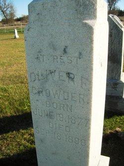 Oliver F. Crowder