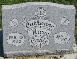 Catherine Marie Cable