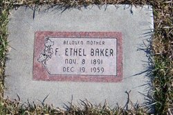 Florence Ethel Baker