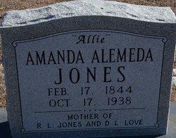 Amanda Alemeda Allie <i>Whetstone</i> Jones
