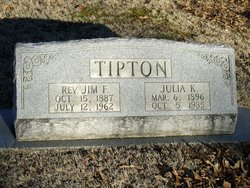Rev Jim F Tipton