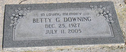 Betty <i>Griggs</i> Downing