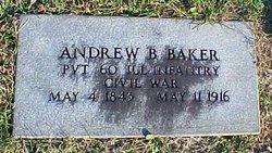 Andrew Bodine Baker