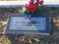 Ola Mae Robinson
