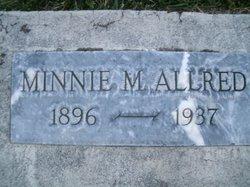 Minnie Ann <i>Morgan</i> Allred