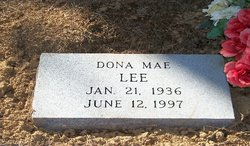 Dona Mae <i>Merritt</i> Lee