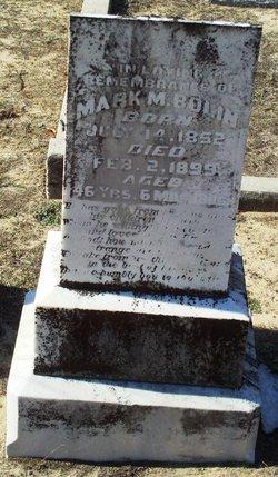 Mark Mancene Bolin