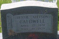Jessie Boone <i>Allison</i> Caldwell