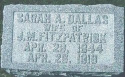 Sarah Ann <i>Dallas</i> Fitzpatrick