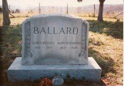 Mary Elizabeth <i>Broyles</i> Ballard