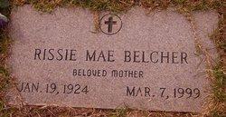 Rissie Mae <i>Belcher</i> Higginbotham