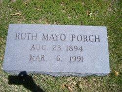 Ruth <i>Mayo</i> Porch