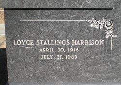 Loyce Elaine <i>Stallings</i> Harrison