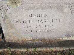 Alice LuRea <i>Witt</i> Darnell