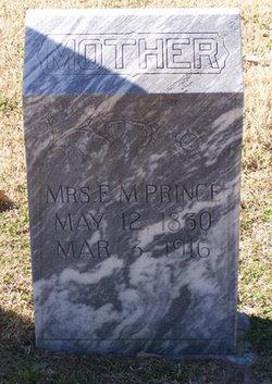 Mrs E. M. Prince