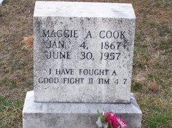 Margaret Ann Maggie <i>Wells</i> Cook