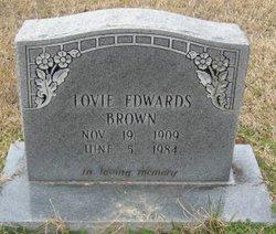 Lovie <i>Edwards</i> Brown