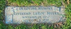 Rev LeRoy Myers