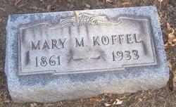 Mary Maria <i>McCartney</i> Koffel