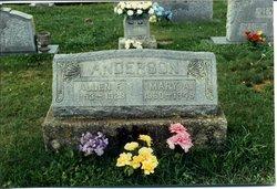 Mary Ann <i>Ward</i> Anderson