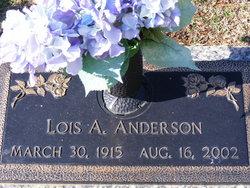 Lois A. <i>Brooks</i> Anderson